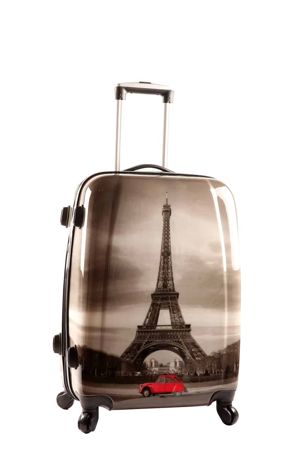 valise 70 cm 4 roues paris tour eiffel snowball styleance. Black Bedroom Furniture Sets. Home Design Ideas