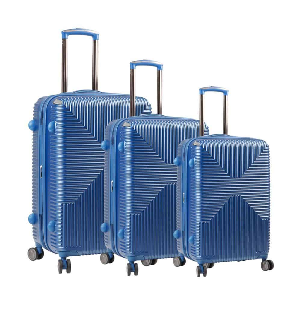 Lot de 3 valises rigides pas cher Snowball-Bagages