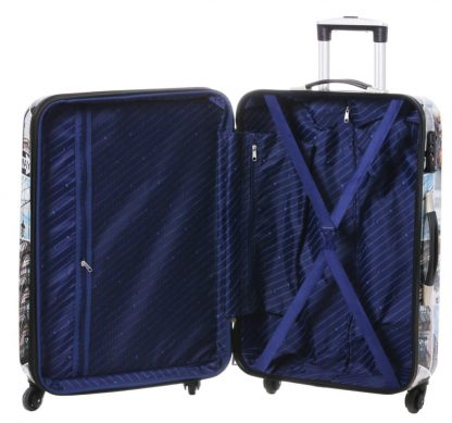 Valise rigide  4 roues 76 cm Snowball-Bagage grande taille