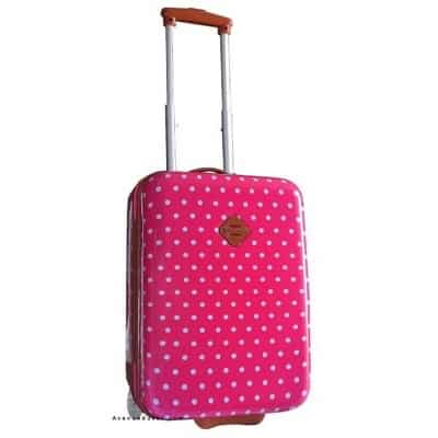 taille 40 04610 e1628 Valise cabine rose pour fille