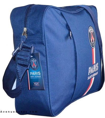 Besace reporter PSG bleue-Sac besace pas cher