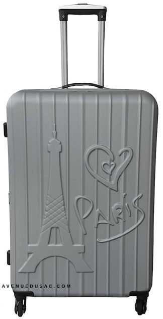 valise rigide 4 roulettes Love paris Madisson