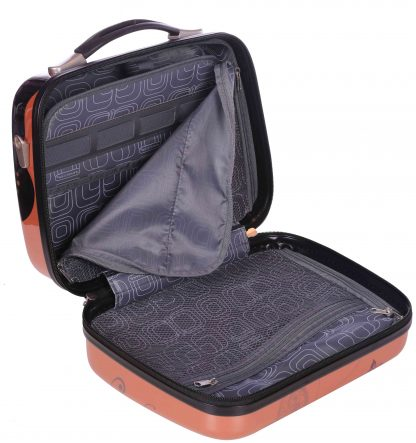 Set Valise Cabine et Vanity Case Rose Gold Madisson.