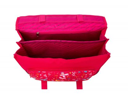 cartable rose fille snowball 95441B pas cher