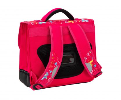 cartable rose fille snowball 95441B