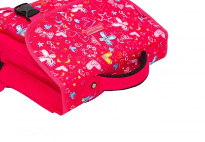 cartable rose fille snowball 95441T pas cher