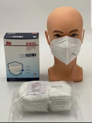 Masques de protection covid KN95